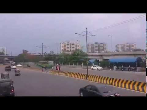 Amazing Road View of Mega City Dhaka