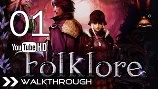 Folklore (PS3) - Walkthrough Gameplay Playthrough Let's Play Part 1 (Doolin - Ellen) HD 1080p