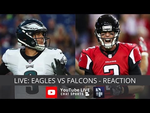 Eagles vs. Falcons Live Streaming Reaction & Watch Party – Thursday Night Football Week 1