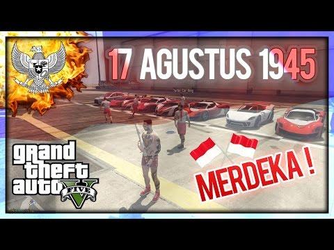 (EDISI SPESIAL) Hari Kemerdekaan INDONESIA 17 Agustus ! - GTA 5 Online INDONESIA !