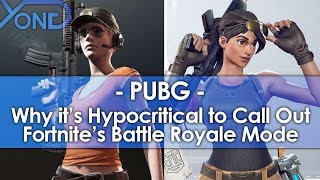 Why it's Hypocritical for PUBG Devs to Call Out Fortnite's Battle Royale Mode