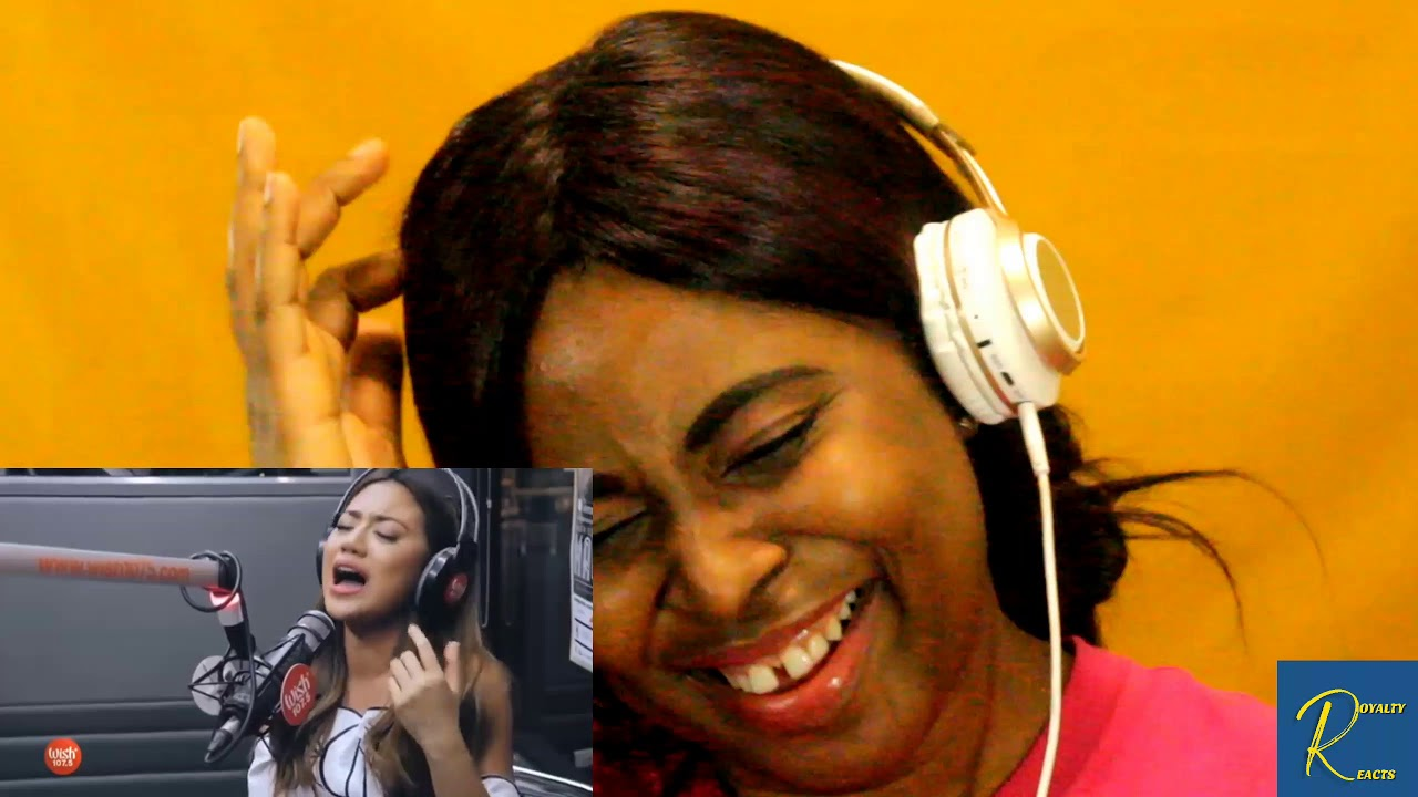 Morissette Amon reacts to her Naririnig mo ba