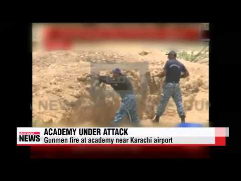 Gunmen attack academy near Pakistan airport