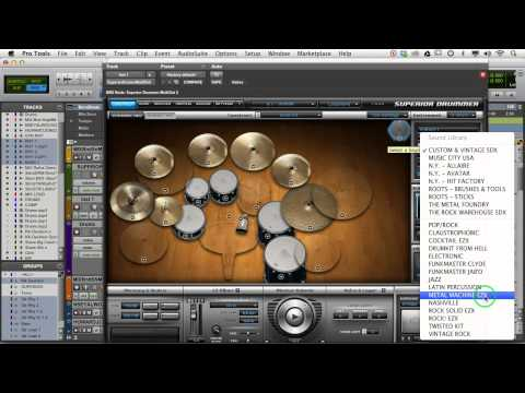 Making Changes to Superior Drummer Tracks with Eyal Levi