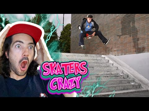 THE MOST CRAZIEST SKATERS on YOUTUBE