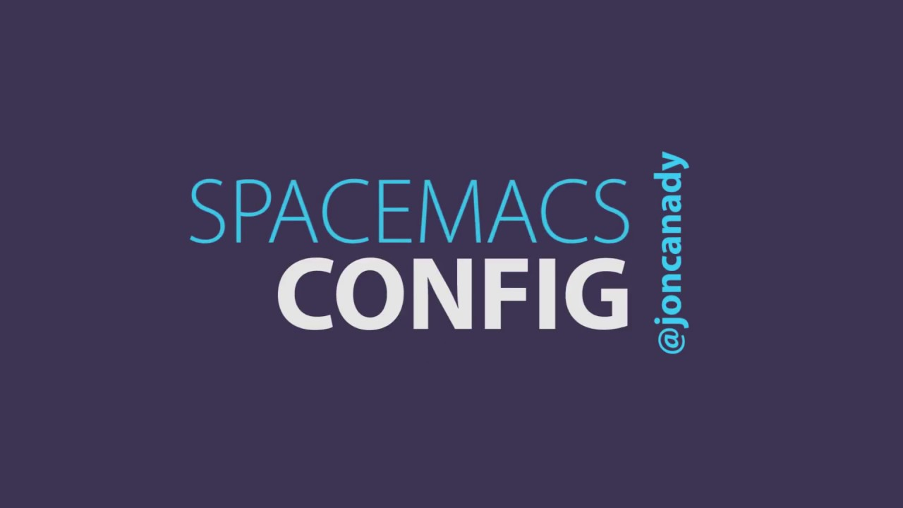 How To Configure Spacemacs