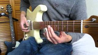 Cover of feelin bad blues by Ry Cooder - played on my coodercaster