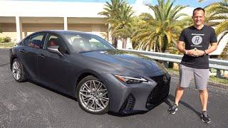 Is the 2022 Lexus IS 500 F Sport a BETTER sport sedan than a TLX Type S?