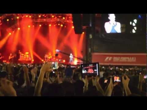 Maroon 5: Singapore F1 2012 WHOLE CONCERT!!!