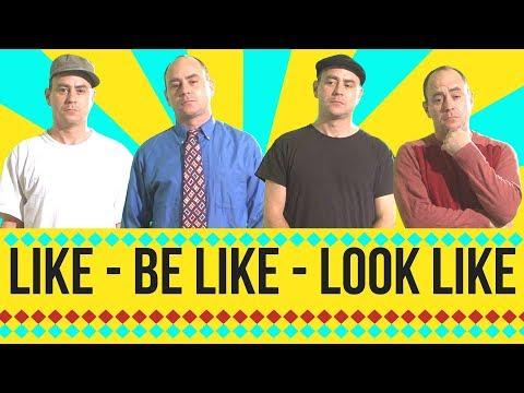 Look like, Be like, Alike - the preposition like