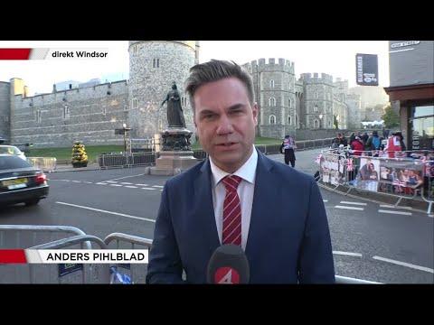 """Stora frågan inför prinsbröllopet: """"Vem ska föra Meghan Markles?"""" - Nyheterna (TV4)"""
