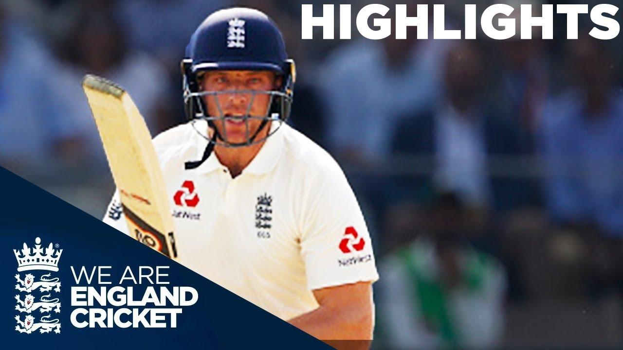 Buttler & Bess Battle To Keep Match Alive On Day 3: England v Pakistan 1st Test 2018 - Highlights