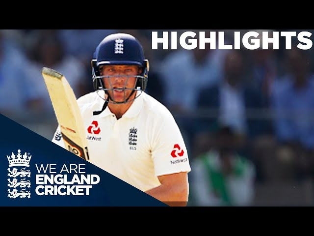 Buttler & Bess Battle To Keep Match Alive On Day 3: England v Pakistan 1st Test 2018 - Highlights