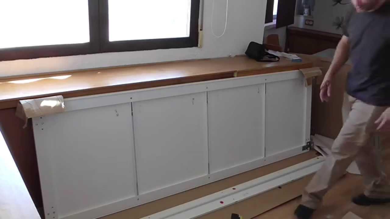 Puertas Correderas De Pax De Ikeasliding Doors Assembly Youtube