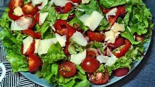 Любимый салат с бальзамическим уксусом
