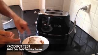 Видео обзор тостера SMEG Retro 50's Style Two Slice TSF01