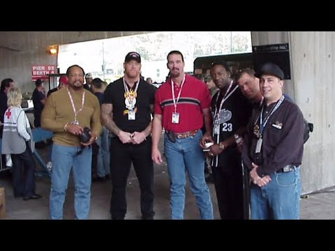 WWE Superstars visit the site of the Sept. 11, 2001, terror attacks in New York City