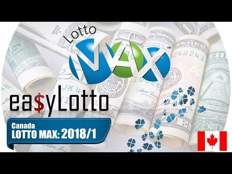 Lotto Max numbers 5 Jan 2018
