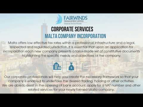 Malta Company Incorporation