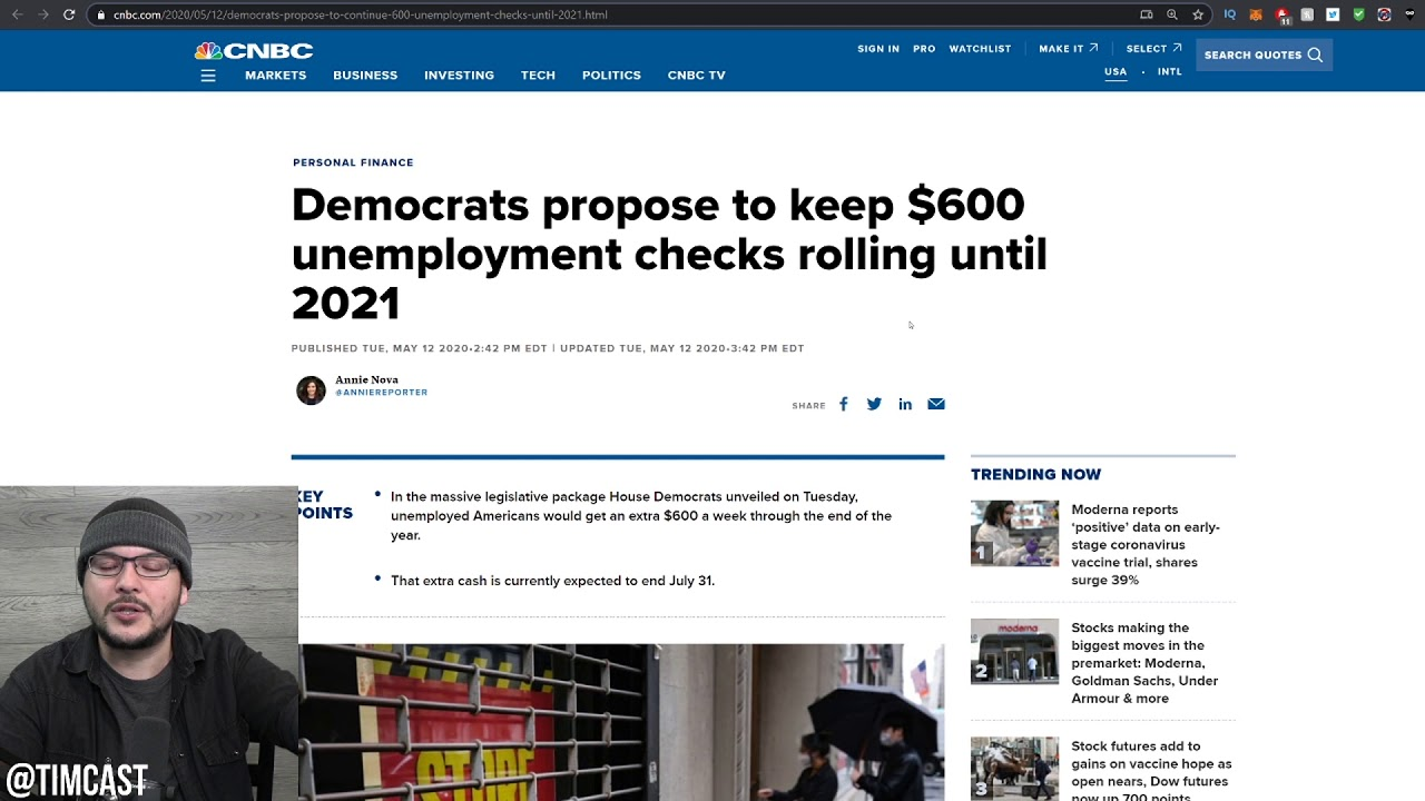 Democrats Are Responsible Now For INSANE Unemployment Numbers, Workers ASK To be Laid Off??!