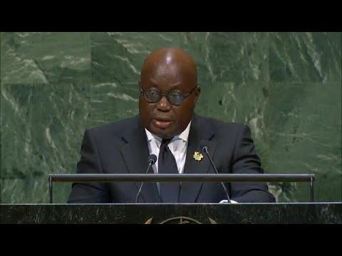 🇬🇭 Ghana - President Addresses General Debate, 73rd Session
