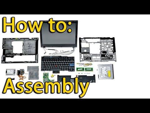 Acer Aspire 5552G assembling,