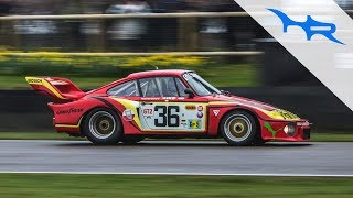 Porsche 935 K3's Roaring Around Goodwood at 76MM