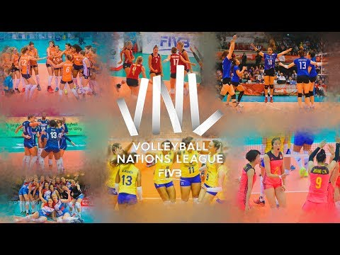 Volleyball Women's Nations League 2018 By Danilo Rosa