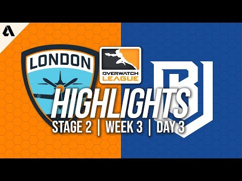London Spitfire vs Boston Uprising | Overwatch League Highlights OWL Stage 2 Week 3 Day 3