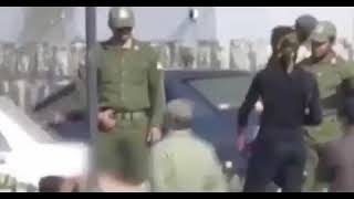 Video footage of a public flogging in southern city of Bushehr