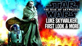 The Rise Of Skywalker First Look At Luke Skywalker! (Star Wars Episode 9)