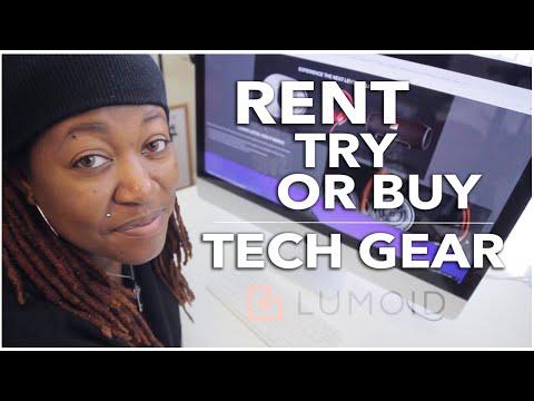 Rent Tech Gear with Lumoid!