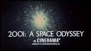 2001: A Space Odyssey - Original Trailer #1