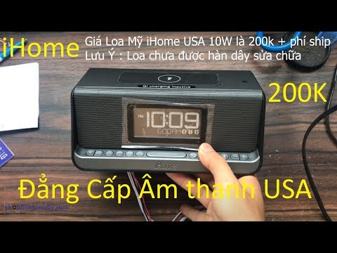 Loa Nghe Nhạc Mỹ Ihome 10W - Hàng Tồn Kho Chất Lượng âm Thanh đẳng Cấp