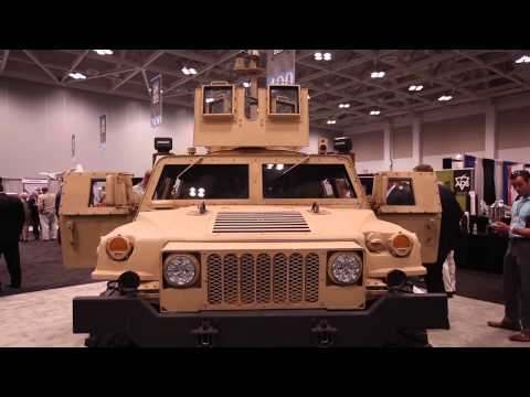 ADS C4ISR Integrated Vehicle Solutions | Modernized Tactical HMMWV