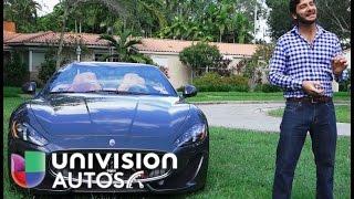Prueba Maserati Gran Turismo Convertible Sport 2015 (Español)(Conoce todos los detalles del Maserati Gran Turismo Convertible Sport 2015. Página web: http://autos.univision.com Facebook: ..., 2015-07-10T20:42:46.000Z)
