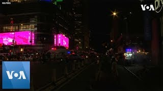 new york city power outage darkens broadway times square
