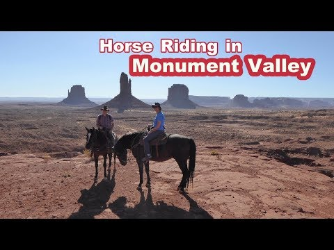Horse Riding in Monument Valley, Utah