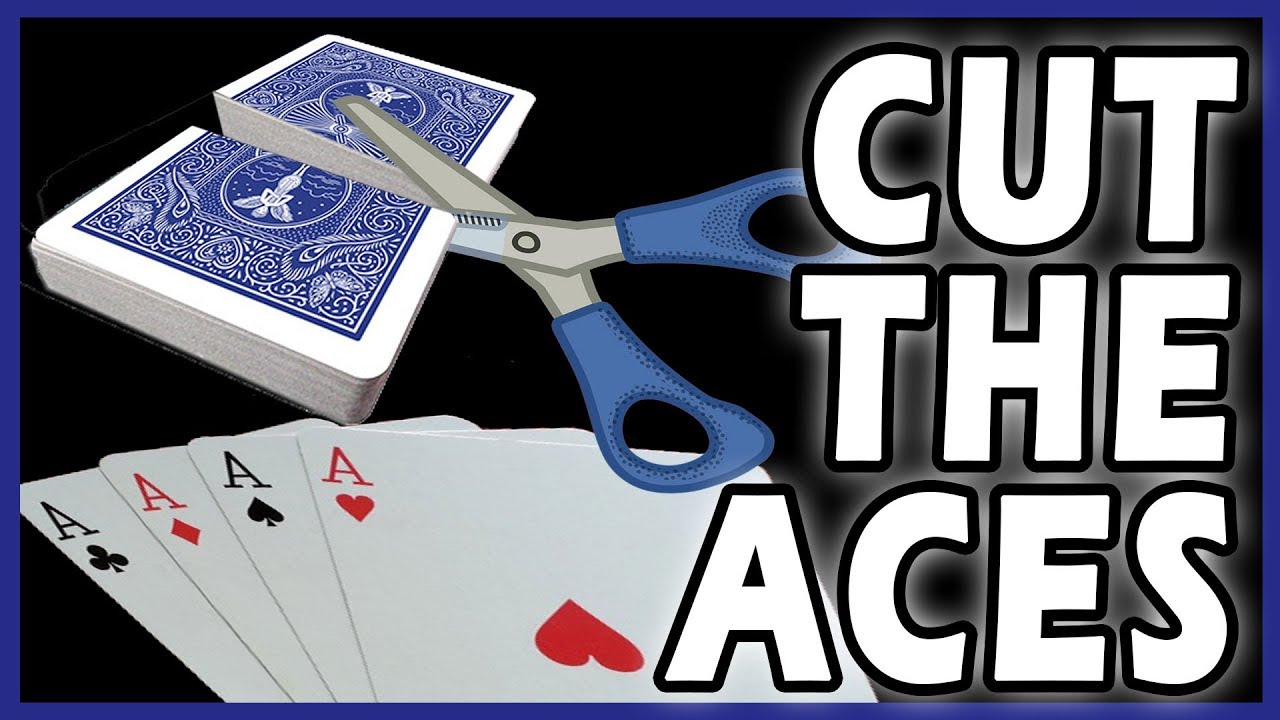 Easy to Learn Trick - Cutting the Aces Magic Card Trick ...