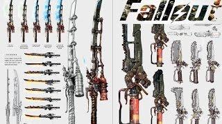 Fallout 4 ТОП 5 Легендарное Оружие Ближнего Боя
