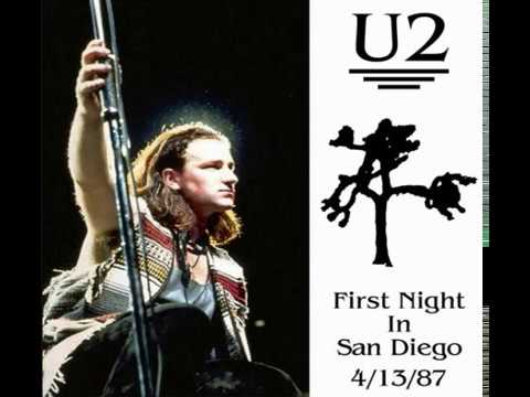 U2 - San Diego, USA 13-April-1987 (Full Concert With Enhanced Audio)