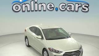 A98528TR Used 2017 Hyundai Elantra SE FWD 4D Sedan Gold Test Drive, Review, For Sale