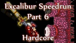 Terraria - Excalibur Hardcore Speedrun (Part 6) thumbnail