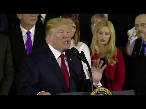 Trump's speech on the opioid crisis, in three minutes