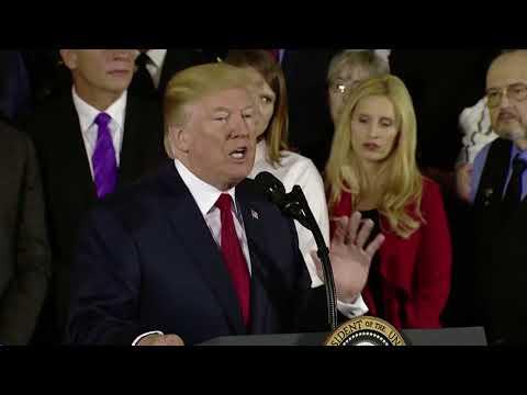 Trump's speech on the opioid crisis, in three minutes