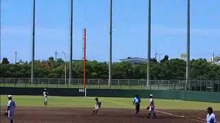 全国離島交流中学生野球大会の決勝戦の雰囲気