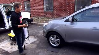 mobile auto detailing car wash and oil change by lubriman video 4