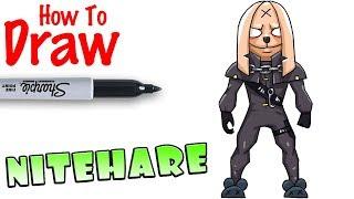 How to Draw Nitehare | Fortnite