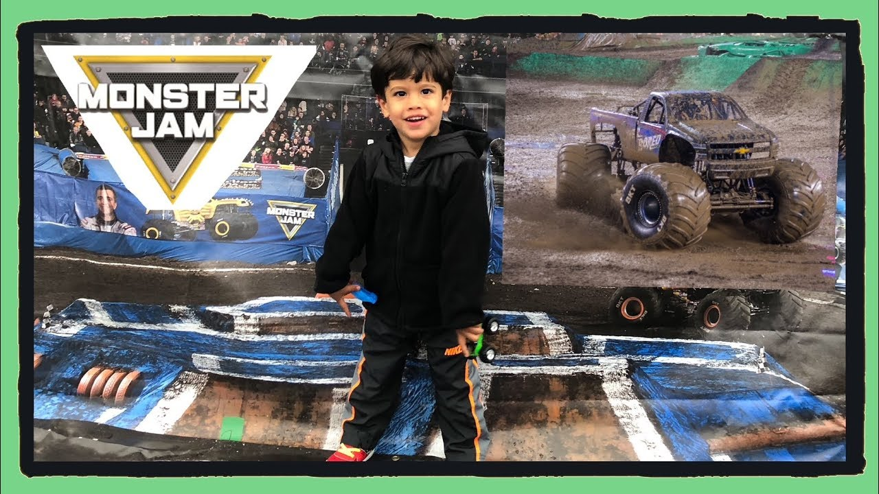 MONTER JAM 2018  USA Huge Monster Truck Show Have fun with Marcelo & real monster trucks