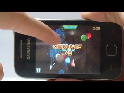 Fruit Ninja Android - Galaxy Y